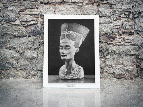 CÓPIA FINE ART - Busto Nefertiti - A3 Papel especial Matt Fibre (fosco)