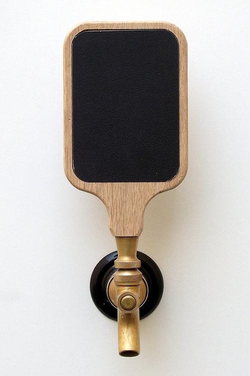 Chalkboard/dry erase Beer tap handle 3x4 insert