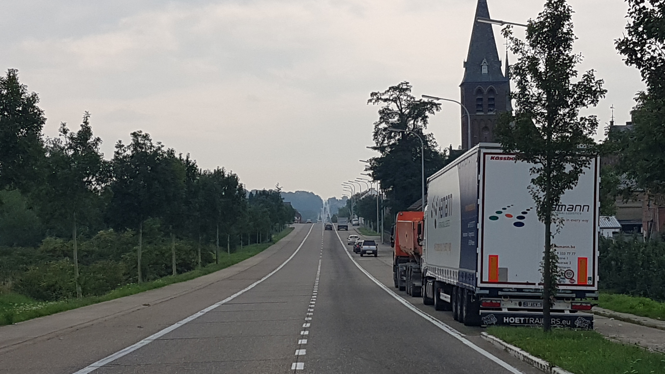 The road to Aachen