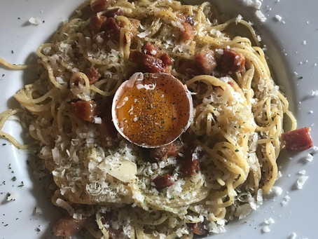 Classic No Cream Carbonara