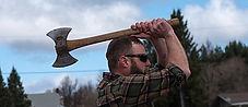 Great Canadian Lumberjacks axe throwing
