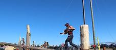 Great Canadian Lumberjacks obstacle pole