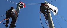 Great Canadian Lumberjacks tree climbing