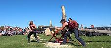 Great Canadian Lumberjacks jack and jill