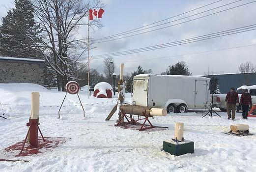 Great Canadian Lumberjack Show travellig lumberjacks