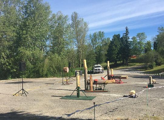 Great Canadian Lumberjack show Kapuskasing