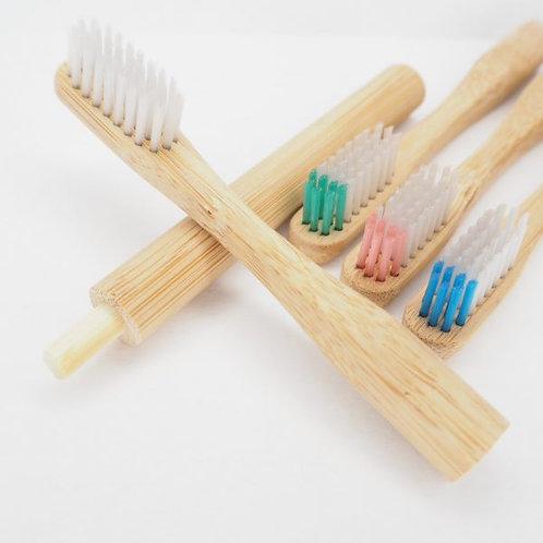 Brosse à dents Tête Interchangeable en Bambou