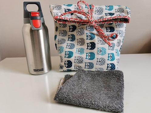 Cadeau Lunch Bag et Gourde Isotherme