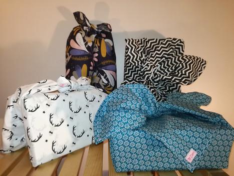 Furoshiki: emballage cadeau zéro déchet