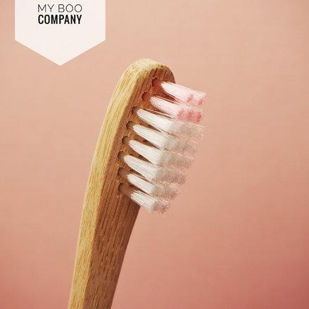 Brosse à dents en bambou Enfant Boo
