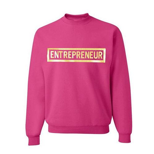 Entrepreneur - Gold Letters