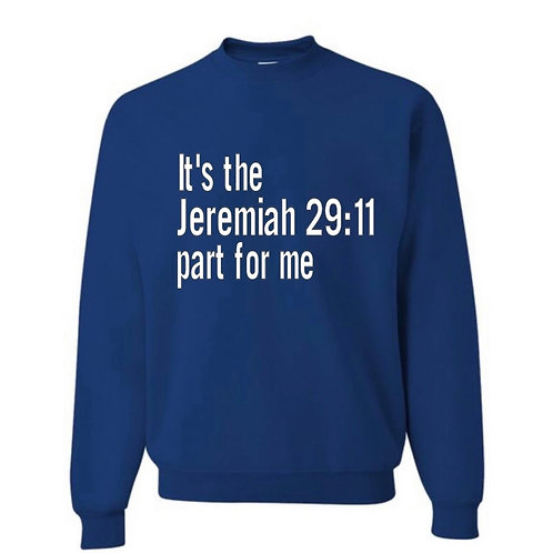 Jer 29:11 - White Letters