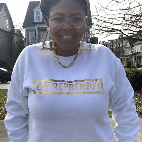 Entrepreneur - Gold Letters (Multiple Shirt Colors Available)