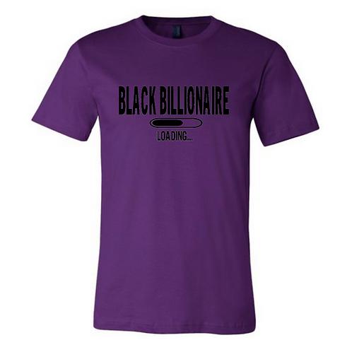 Black Billionaire (Black Letters) Tshirt