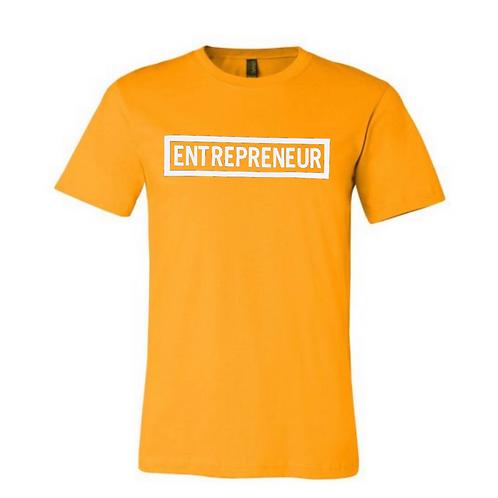 Entrepreneur (White Letters) Tshirt