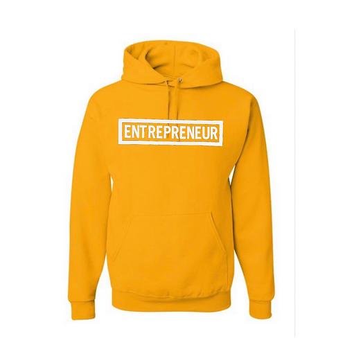 Entrepreneur - White Letters Hoodie