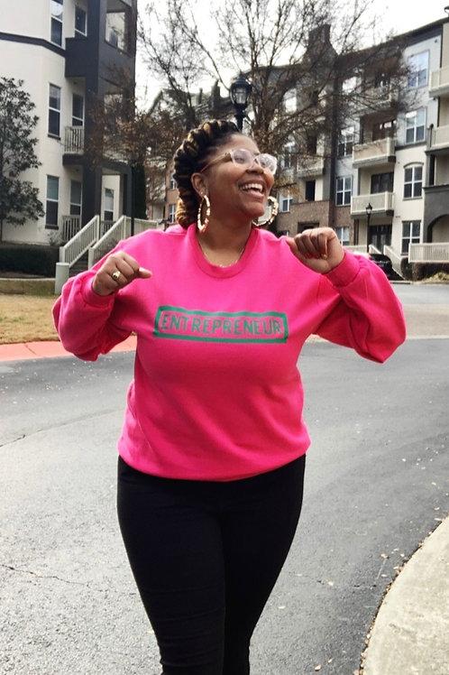 Entrepreneur - Green Letters (Multiple Shirt Colors Available)