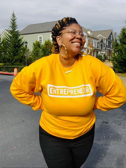 Entrepreneur - White Letters (Multiple Shirt Colors Available)