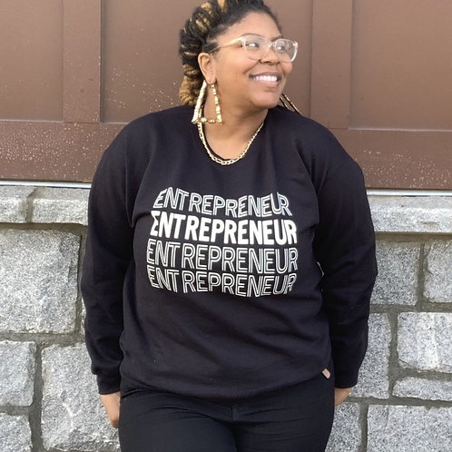 Bold Entrepreneur - White Letters (Multiple Shirt Colors Available)