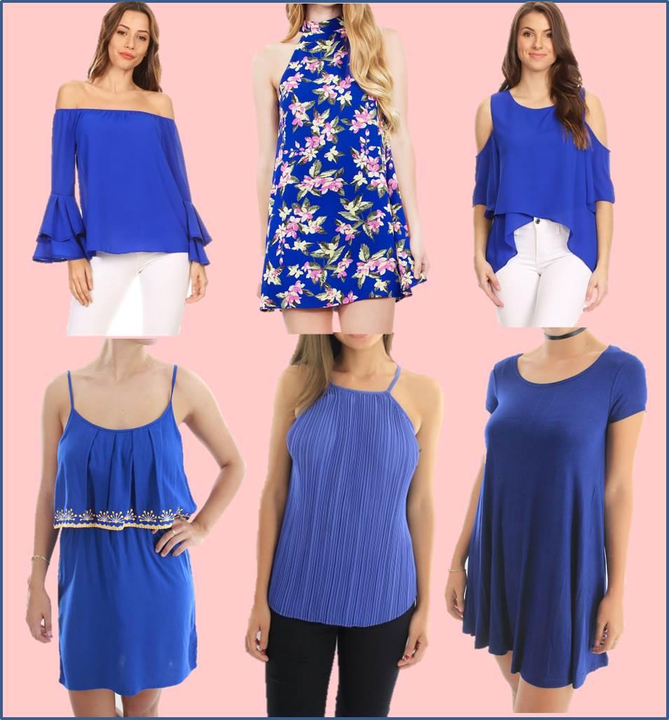 Encantador Vestido De La Dama Azul Larga Regalo - Colección de ...