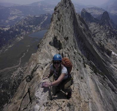 Matthes crest in Yosemite