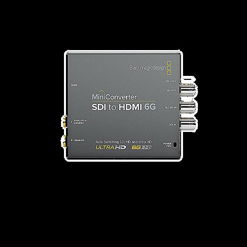 BMD - 6G SDI - HDMI