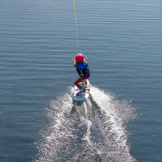 Learning Wakeboarding Boarder Pass Sarni