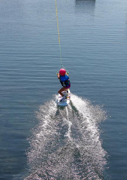 Learning Wakeboarding Boarder Pass Sarni