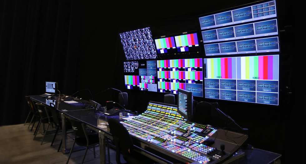 TV and Film Production Control Room