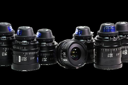 Sigma High Speed Full Frame Primes