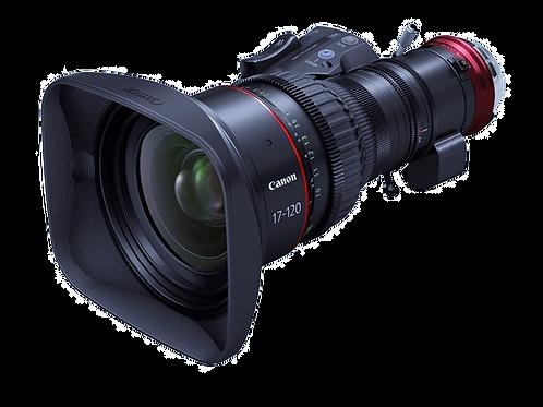Canon 17-120mm T2.95  Cine Servo