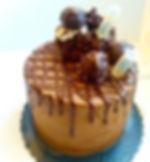 Ferrero Rocher__Double chocolate cake in
