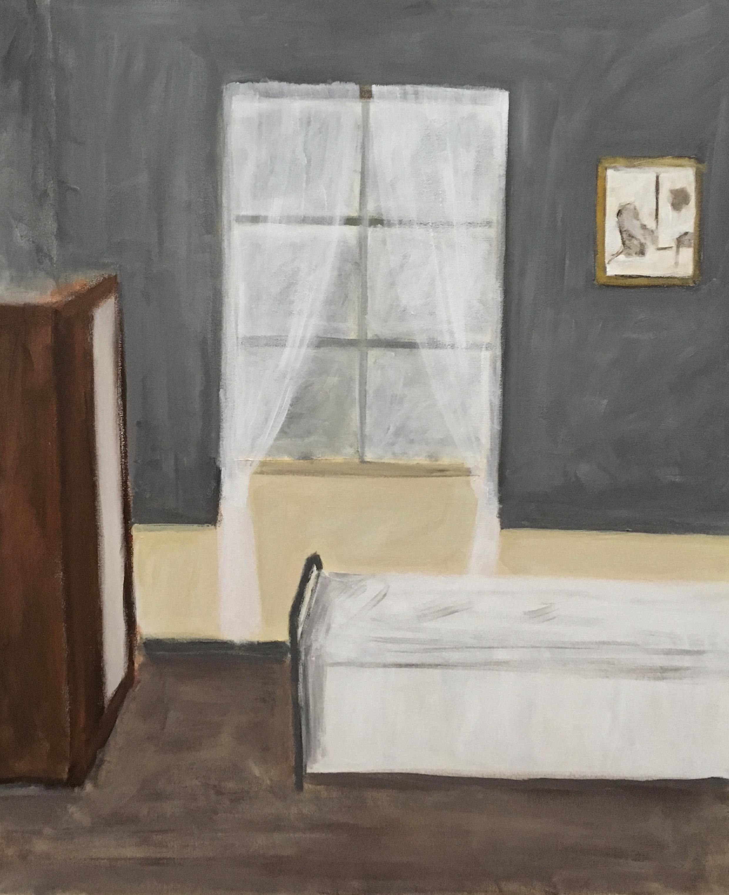 La cortina blanca