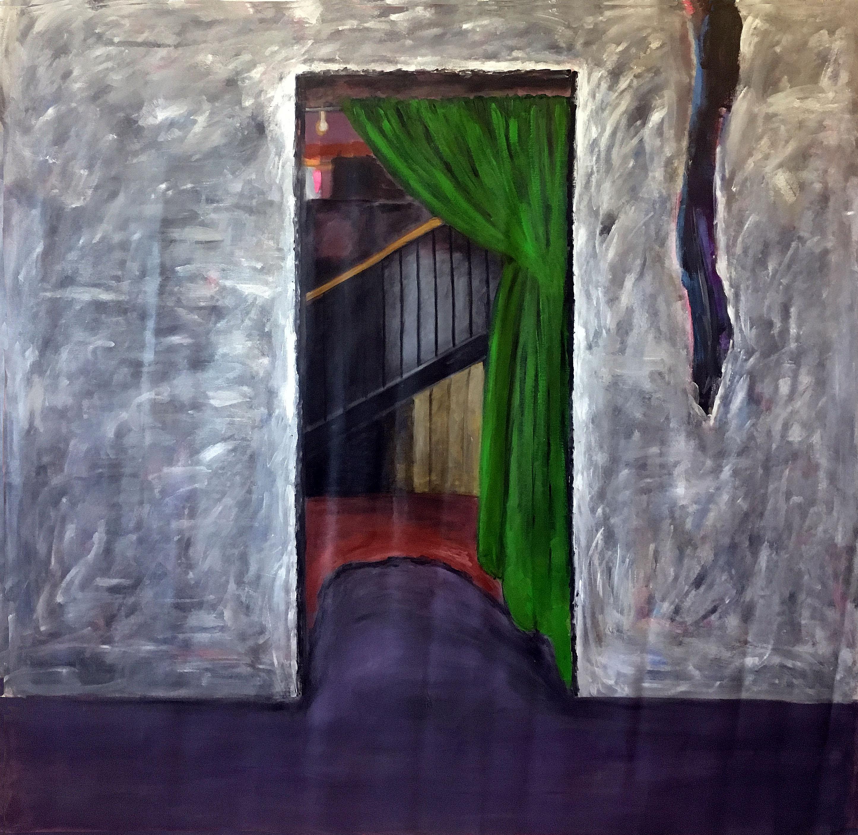 La cortina verde