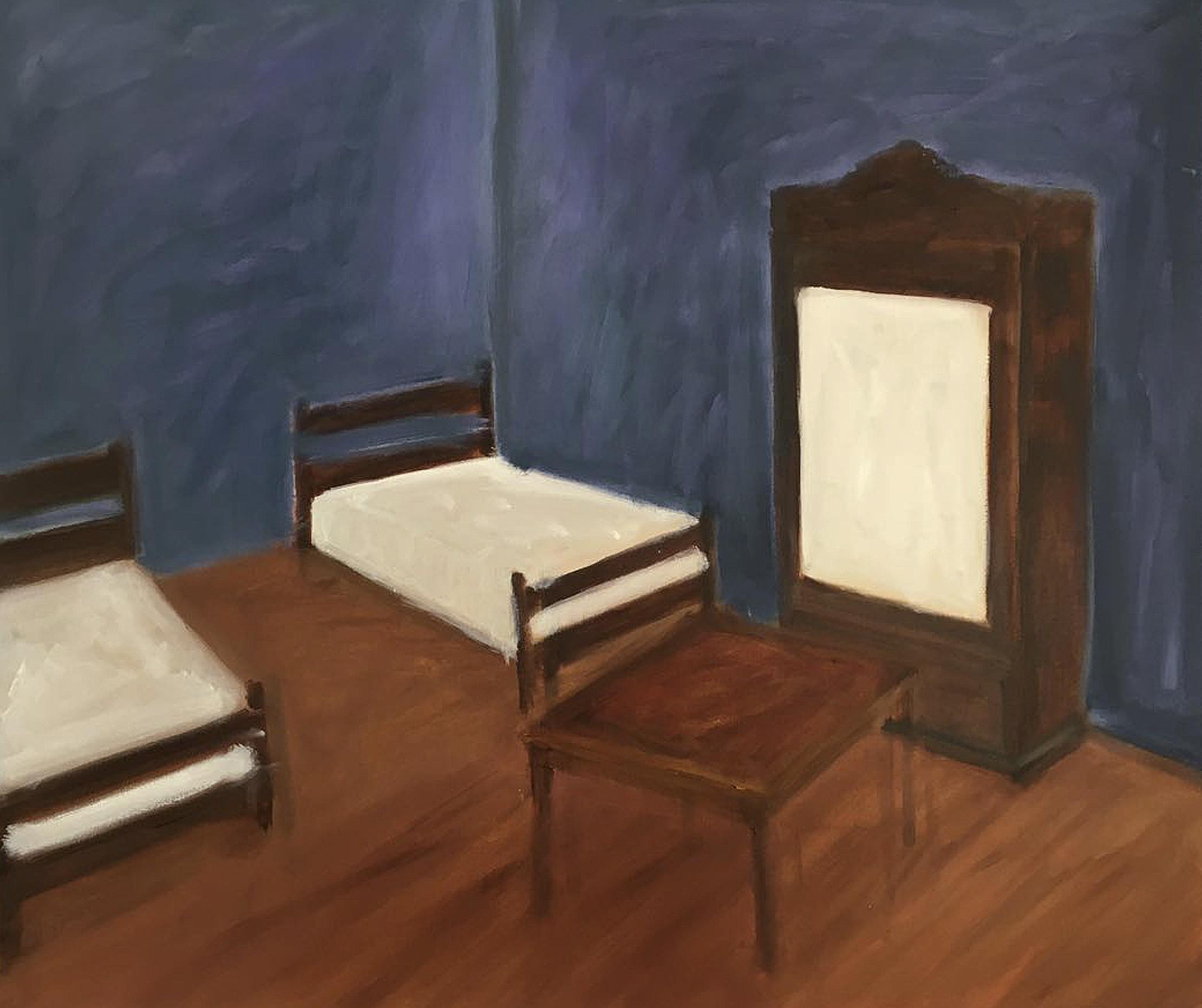 El cuarto azul