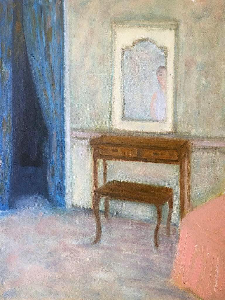 La cortina abierta