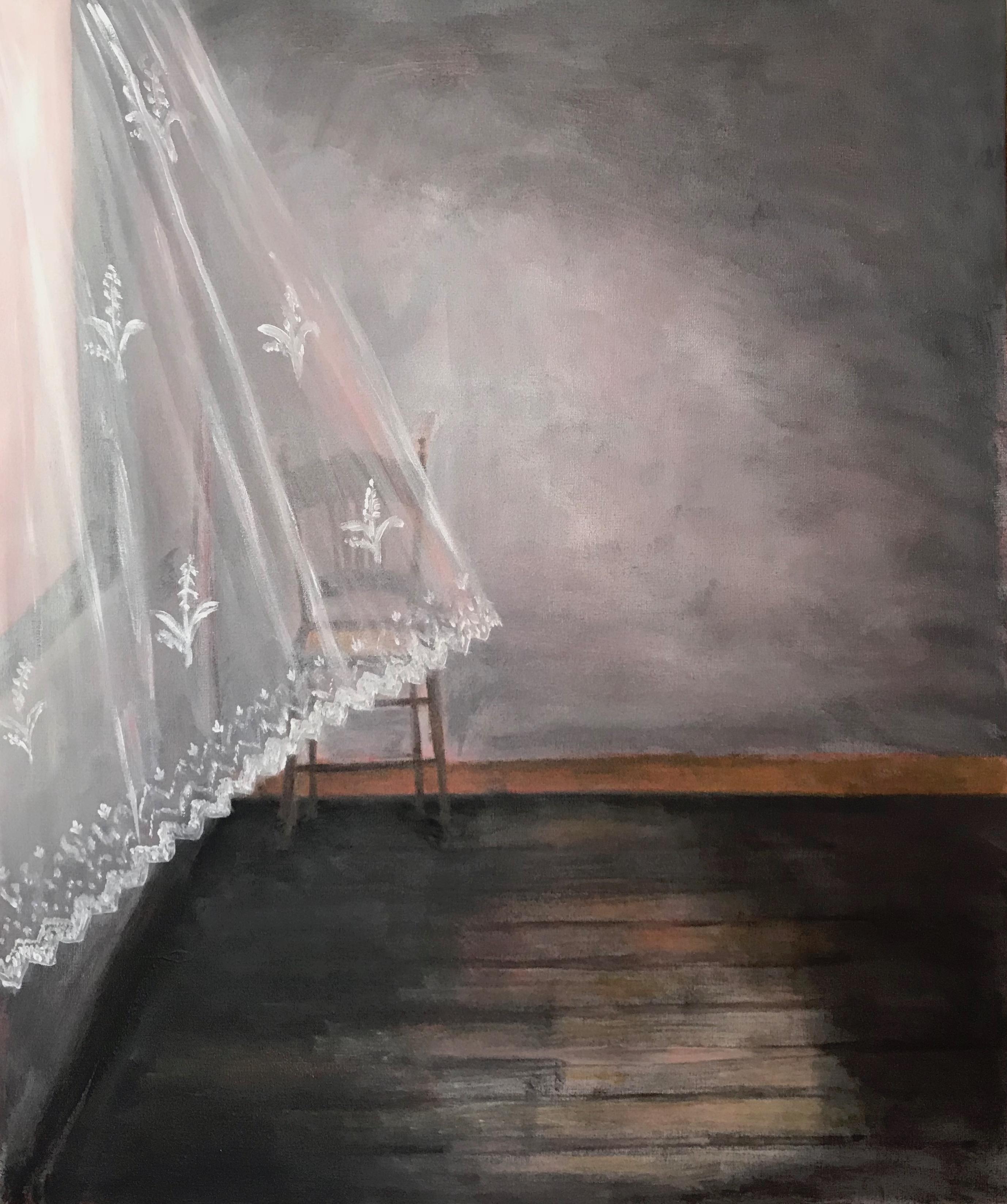 La cortina II, 2018
