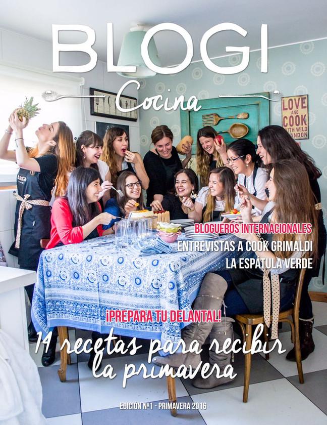Revista Blogi Cocina, edición N°1 Primavera