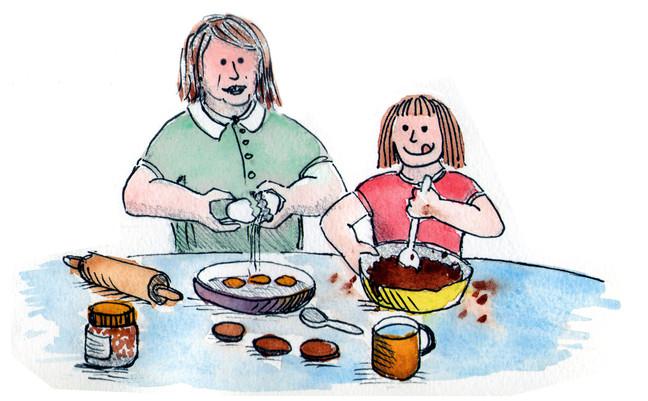 Mini ayudantes de cocina