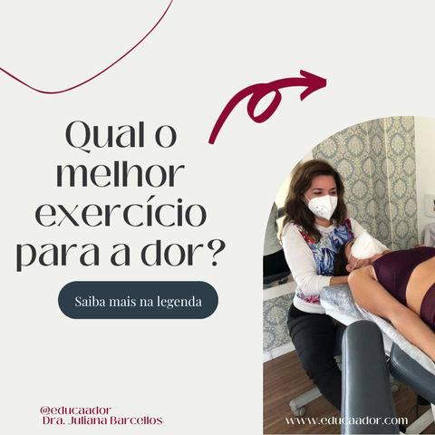 Qual o melhor exercício para a dor?