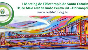 Dor será tema no I Meeting de Fisioterapia promovido e realizado pelo Crefito 10.