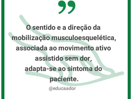 Fisioterapeutas, reflexão.