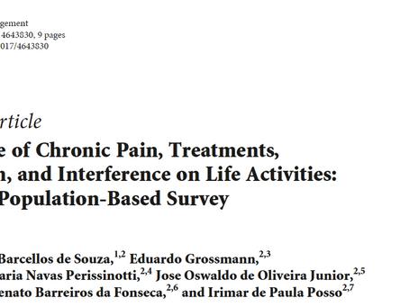 Você sabe quantas pessoas sofrem com dores crônicas no Brasil?