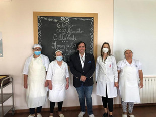 """Chef Hélio Loureiro deu receita a Felgueiras no """"Mês 100% Alimento"""""""