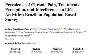 Prevalência de dor nos brasileiros