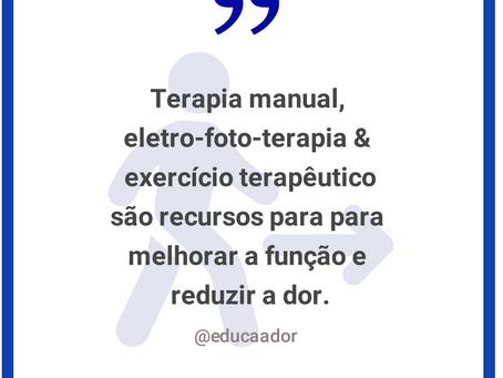 Recursos terapêuticos - Fisioterapeutas
