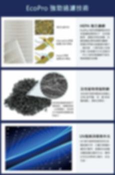 EcoPro 強勁過濾技術