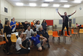 """Regals """"Rock of Ages"""" Rehearsals"""
