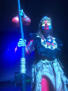 The Regals Musical Society's production of Disney The Lion King Jr - 'Cubs' Cast - Rafiki - Ava Crewes