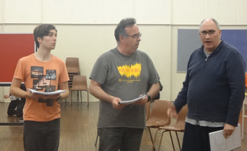 """6/10/2018 Regals """"Rock of Ages"""" Rehearsals"""